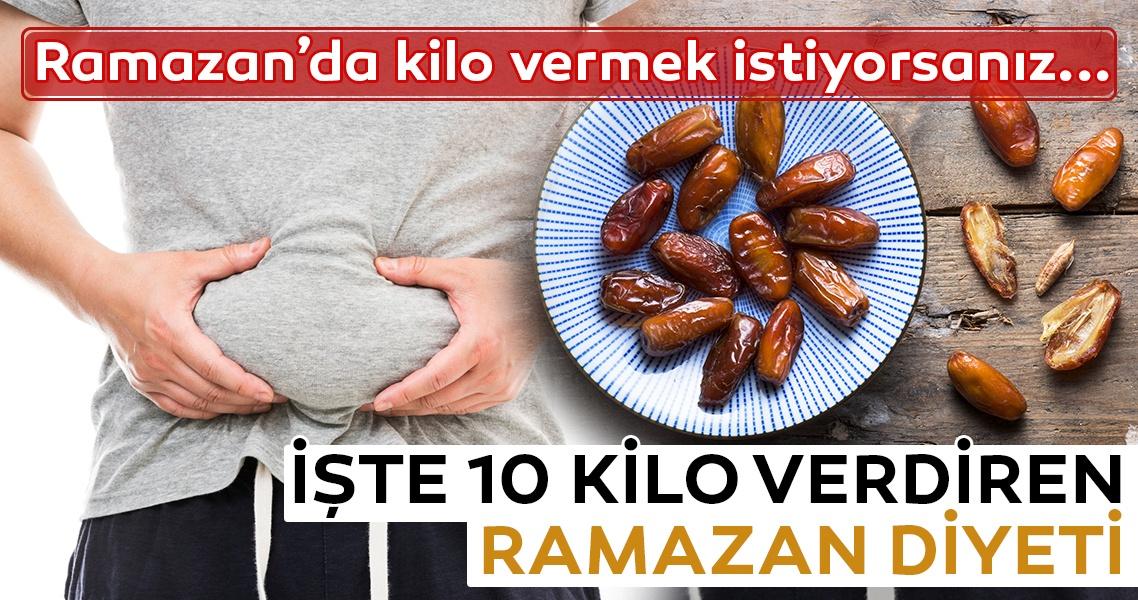 Ramazanda Diyet