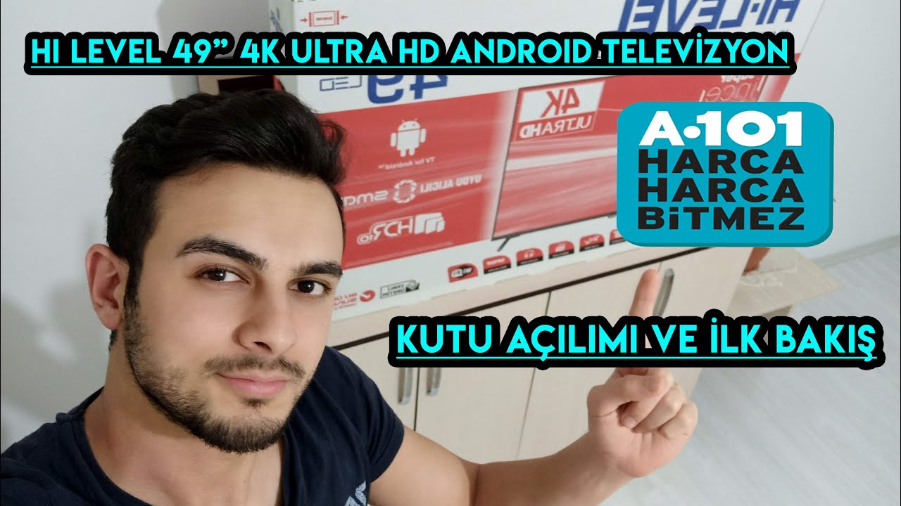 A101 Hi Level 4K UHD Android TV 55 inch