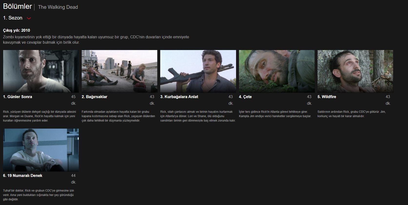 The Walking Dead 9.Sezon Nereden İzlenir
