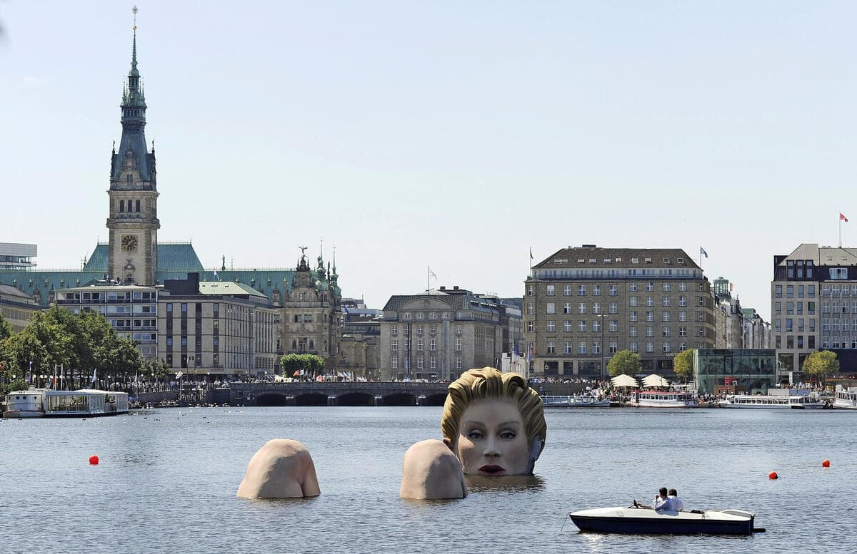 Hamburg Alster Gölü