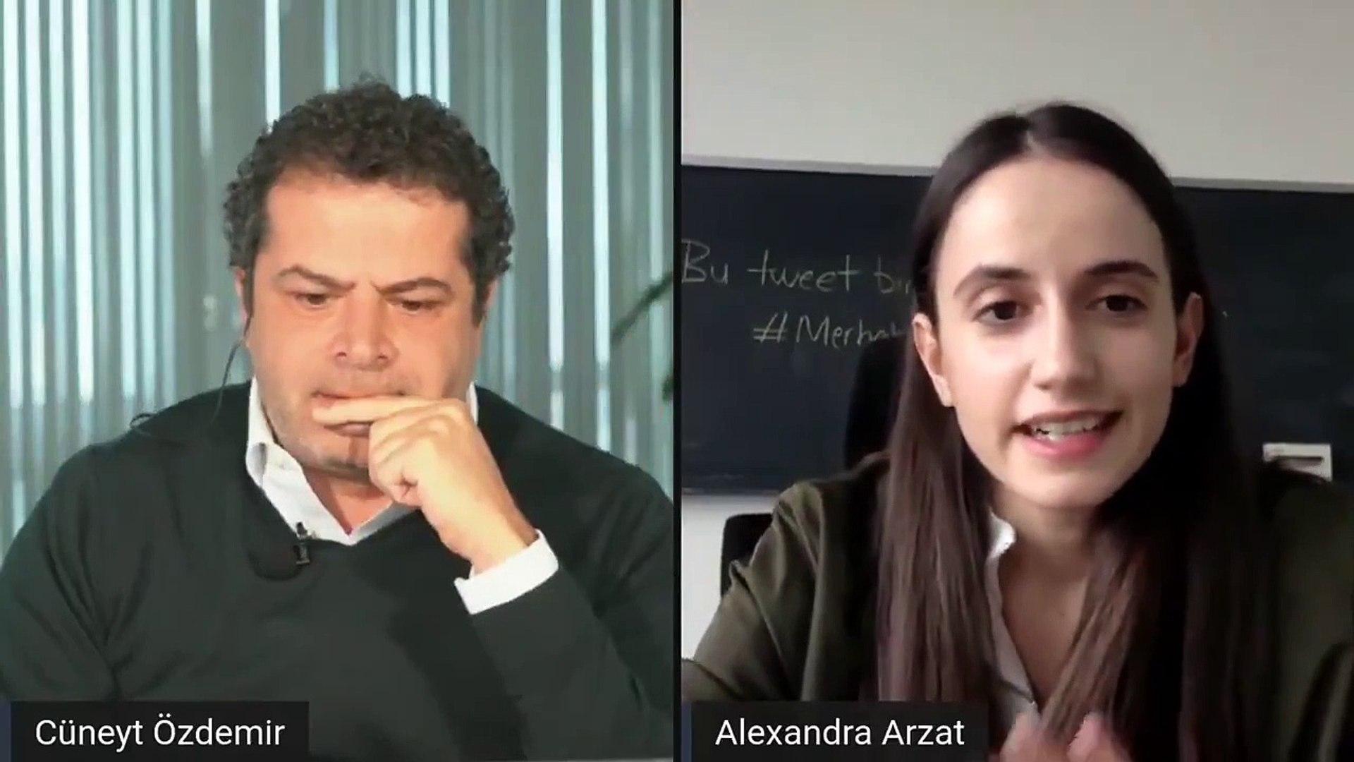 Alexandra Arzat Cüneyt Özdemir