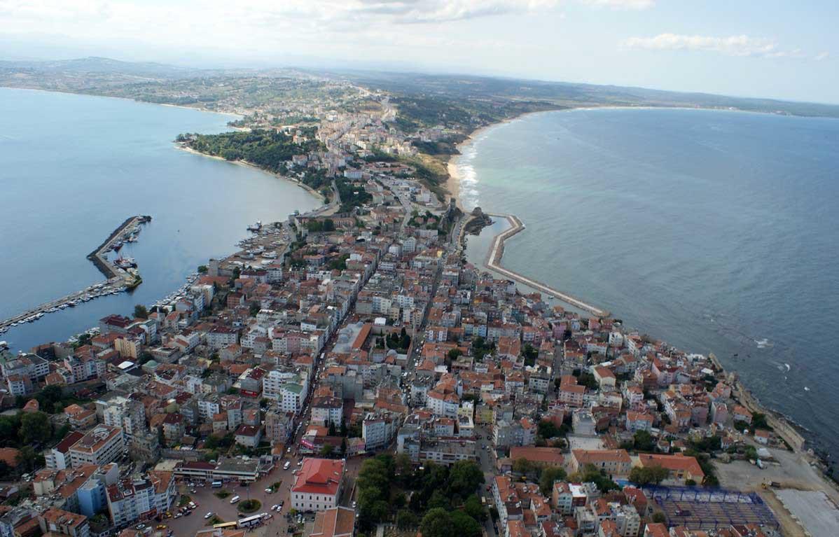 Sinop Havadan Fotoğraflar